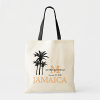 Destination Wedding Tote Bags Jamaica