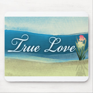 Destination wedding  - true love mouse pad