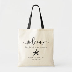 Destination Wedding Welcome Bag | Starfish at Zazzle