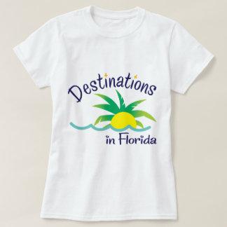 Destinations in Florida Print Logo Merchandise T-Shirt
