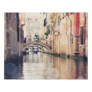 Destinations | Venice Gondolas Photograph Faux Canvas Print