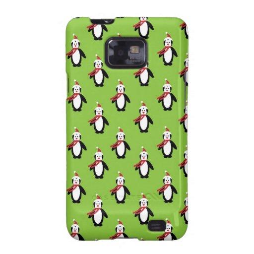 Destino animal de Santa del navidad del arte de lo Samsung Galaxy SII Funda