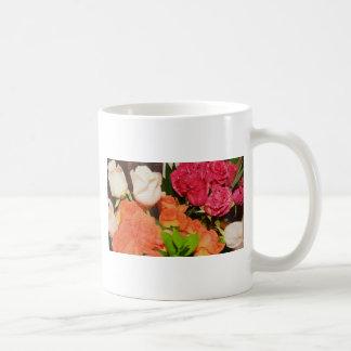 Destino colorido del banquete de boda de los centr taza