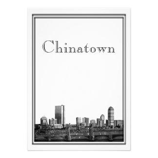 Destino de Boston que casa Chinatown Comunicado Personal
