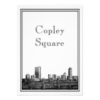 Destino de Boston que casa el cuadrado de Copley Anuncios Personalizados