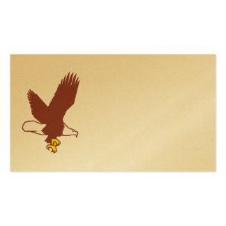 Destino de la naturaleza de animales del pájaro tarjetas de visita