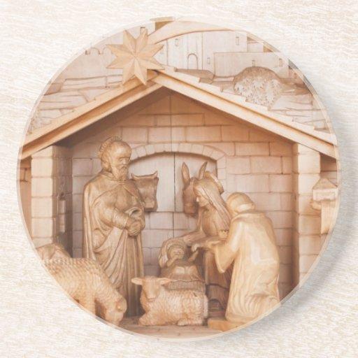 Destino de la oficina de la paz del amor de la fe  posavasos de arenisca