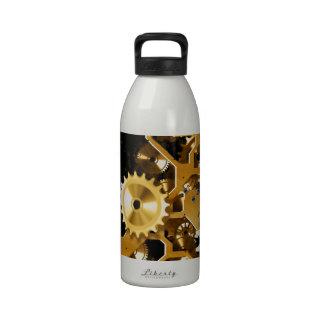 Destino de la oficina de Steampunk del Grunge del Botellas De Agua Reutilizables