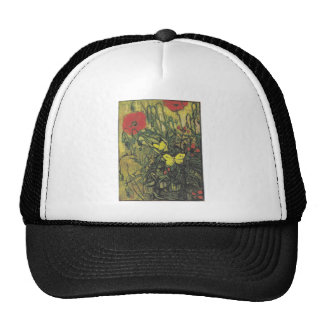 Destino de la paz de las flores de las amapolas de gorra