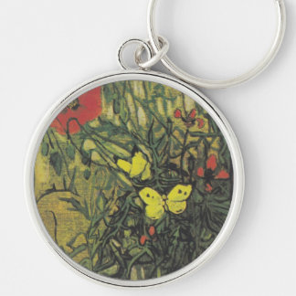 Destino de la paz de las flores de las amapolas de llaveros