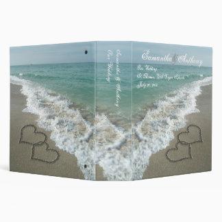 Destino de la playa o planificador del álbum del