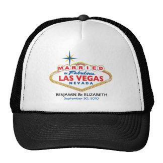 Destino de Vegas que casa el gorra conmemorativo