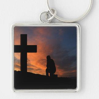 Destino del amor de la paz de Jesús de la cruz de  Llaveros