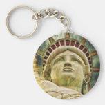 Destino del amor de la paz de New York City de la  Llaveros Personalizados