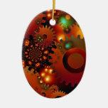 Destino del arte de Digitaces del diseño de la ofi Ornamento Para Arbol De Navidad