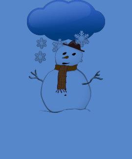 Destino del día de fiesta del navidad del invierno camiseta