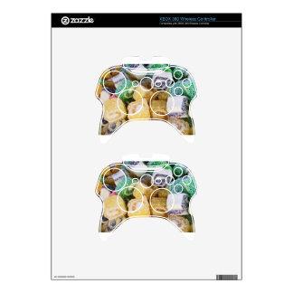 Destino del fiesta del amor de la paz del postre mando xbox 360 skin