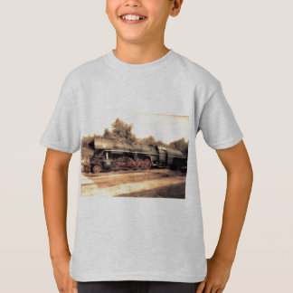 Destino del motor de Steampunk del ferrocarril del Camisas