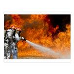 Destino Digital del rescate de la llama del fuego Postal