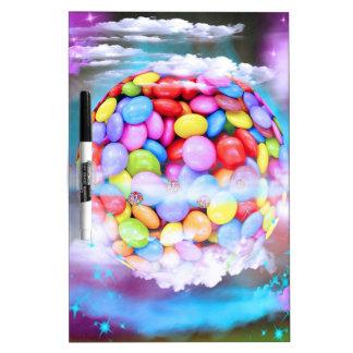 Destino dulce colorido del amor del fiesta del pos pizarra