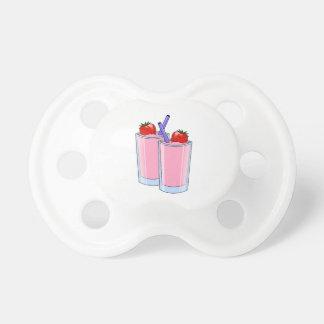 Destino dulce del postre de la fresa del Smoothie  Chupetes Para Bebés