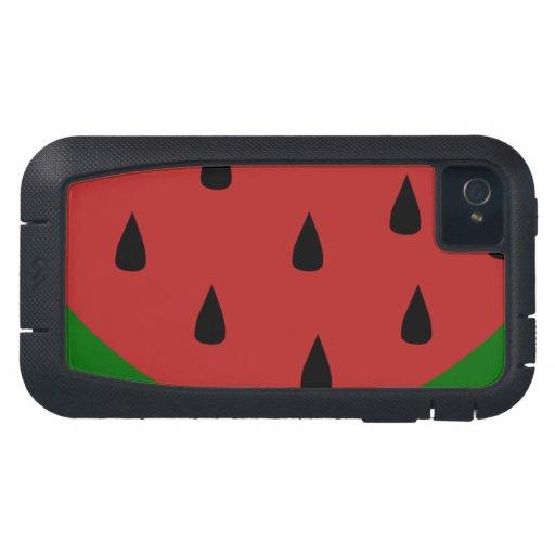 Destino dulce del postre de la sandía del Smoothie Funda Para iPhone 4