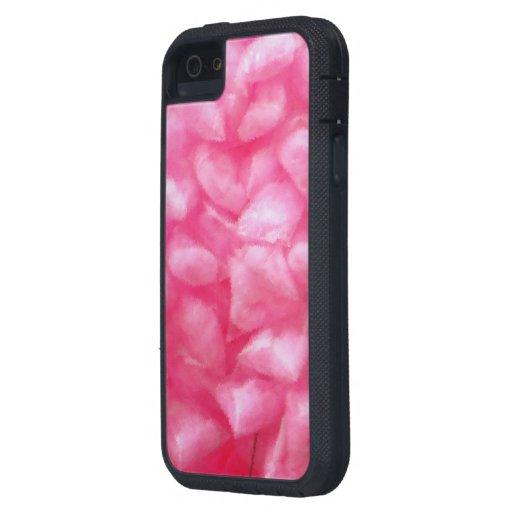 Destino dulce del postre del rosa del caramelo de  iPhone 5 carcasas