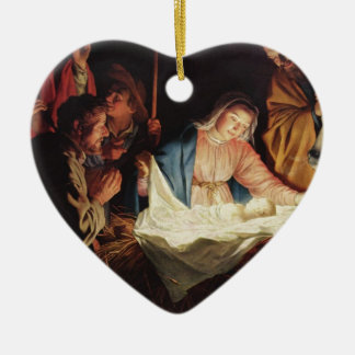 Destino inspirado cristiano de Cristo de la fe de Adorno De Cerámica En Forma De Corazón