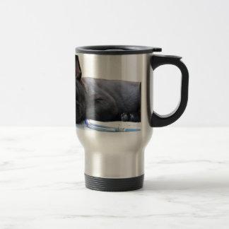 Destino lindo del amor del perrito del mascota del taza de café