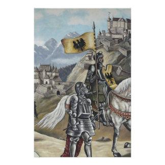 Destino medieval del fiesta del castillo de los le papeleria