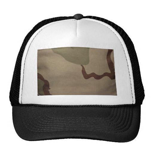 Destino militar de la paz del modelo del camuflaje gorra