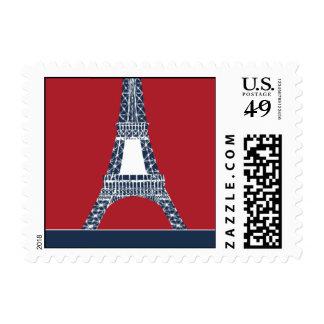 Destino París Sellos Postales