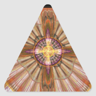 Destino Pegatinas Triangulo