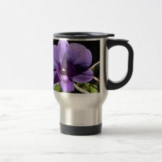 Destino púrpura de la paz del amor de la fe de la taza de viaje