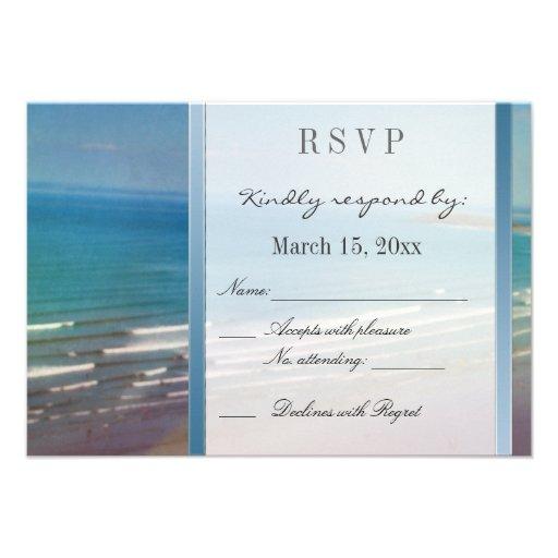 Destino que casa DIY RSVP Invitacion Personalizada