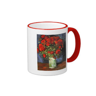 Destino rojo de la paz del amor de la primavera de taza de dos colores