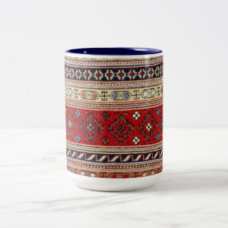 Destino turco del fiesta del arte del amor de la taza de dos tonos