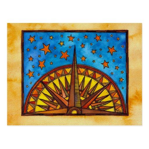 Destino, universo tarjetas postales