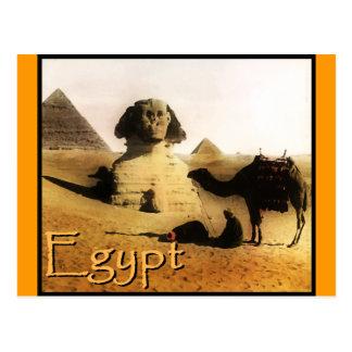 Destinos exóticos: Egipto Tarjeta Postal
