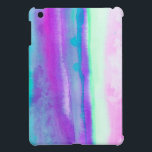 """Destiny1.2 Abstract watercolor in pastel and neon iPad Mini Cover<br><div class=""""desc"""">From an original watercolor painting.</div>"""