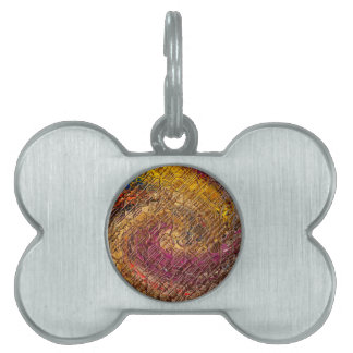 Destiny, an abstract creation pet name tag