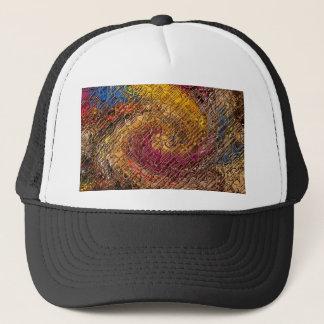 Destiny, an abstract creation trucker hat