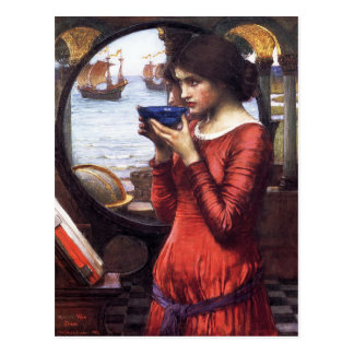 DESTiNY, by John William Waterhouse, 1900 Postcard