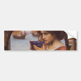 Destiny by John William Waterhouse Bumper Sticker