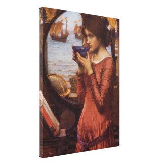 Destiny by John William Waterhouse Canvas Print