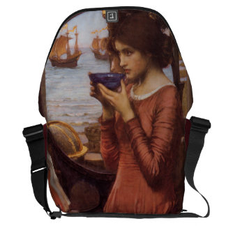 Destiny by John William Waterhouse Courier Bags