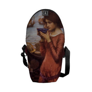 Destiny by John William Waterhouse Messenger Bag