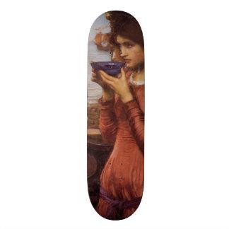 Destiny by John William Waterhouse Skateboard Deck