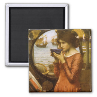 Destiny by JW Waterhouse, Vintage Victorian Art Fridge Magnets