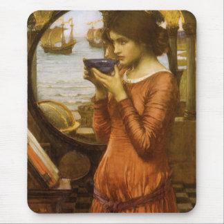 Destiny by JW Waterhouse, Vintage Victorian Art Mouse Pad